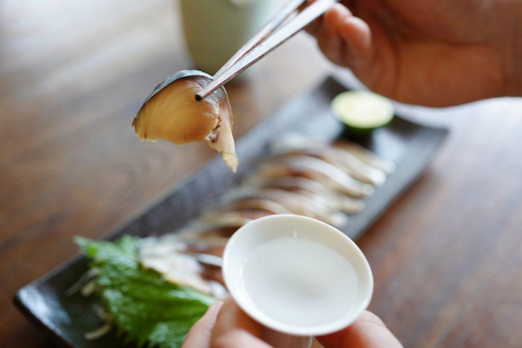 日本酒 しめ鯖